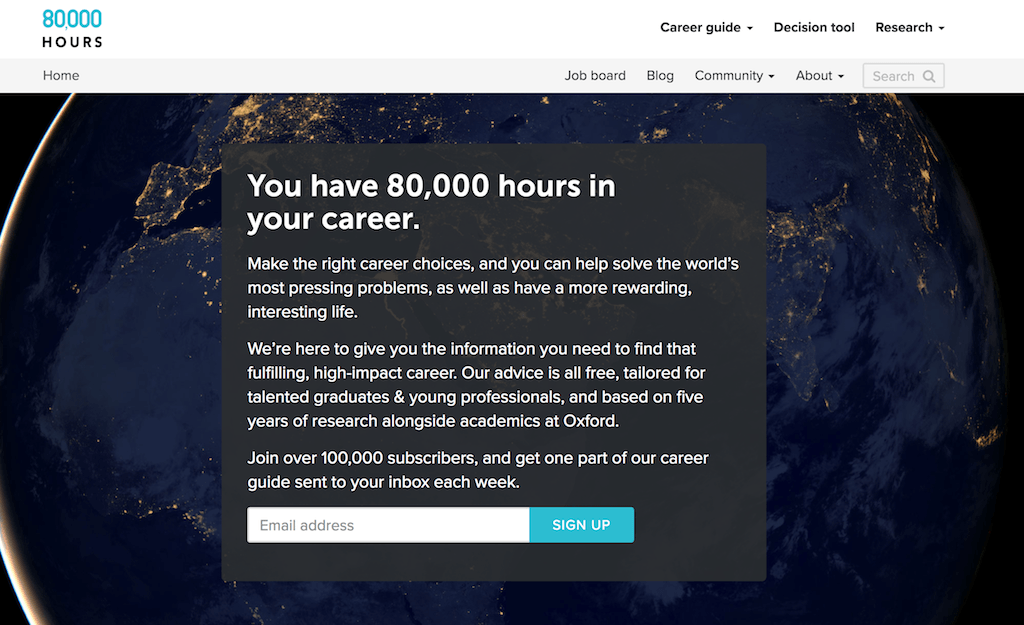 80,000 Hours