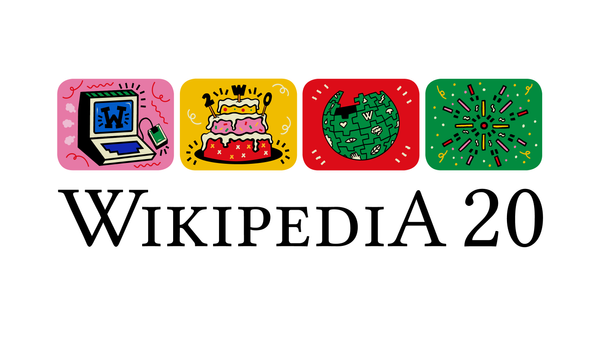 Hooray for 20 years of Wikipedia!